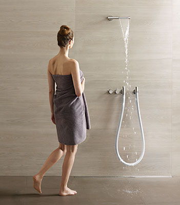 Product: Combi-32: Water fall shower, kneipp hose…