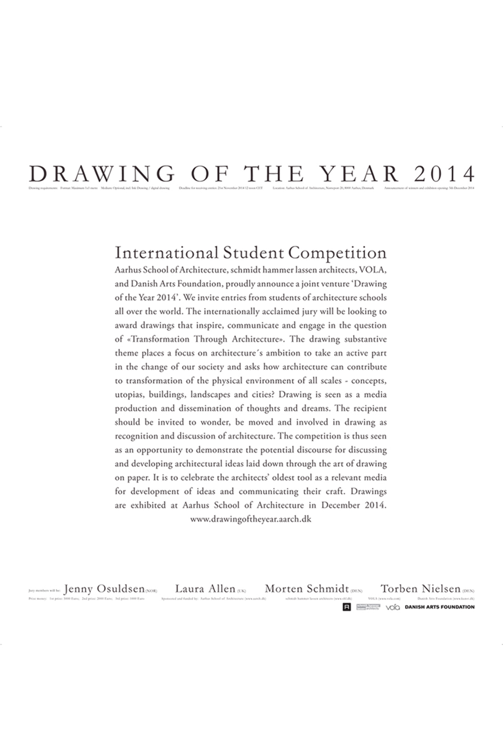 """Drawing of the year 2014"""