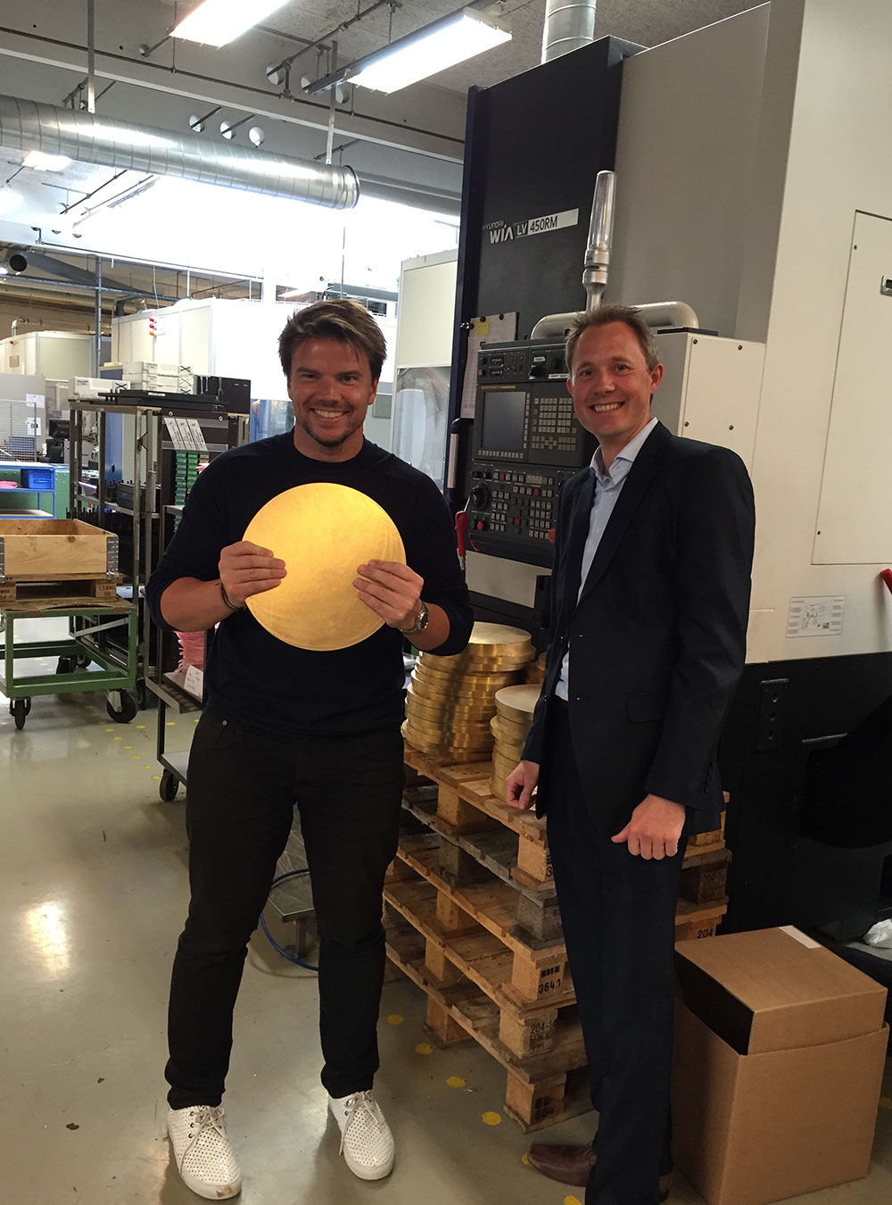 Bjarke Ingels at the VOLA Academy in Horsens